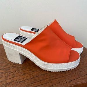 Vintage Y2K 9&Co. Platform Sandals